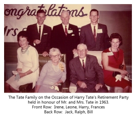 Harry E. Tate Retirement Party